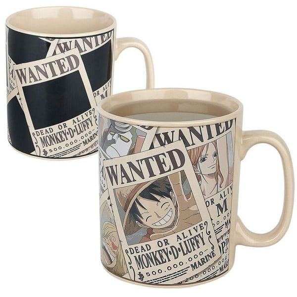heat sensitive mug one piece