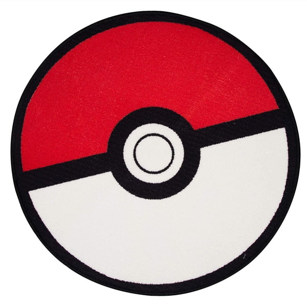 alfombra redonda pokeball