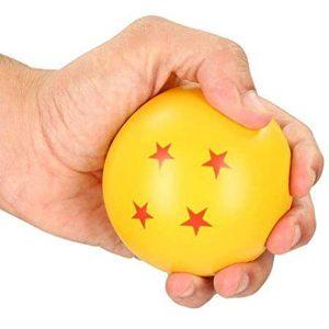 pelota antiestres bola de dragon 4 estrellas