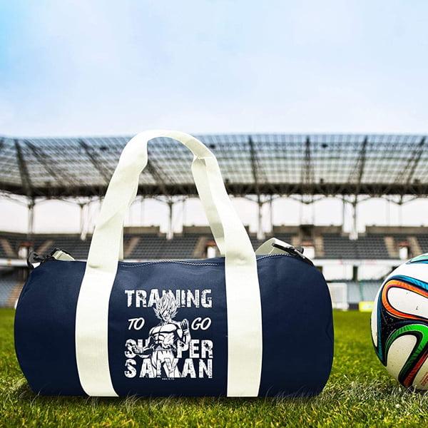bolsa deportiva diseño goku dbz