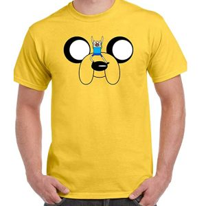camiseta adventure time jake gigante