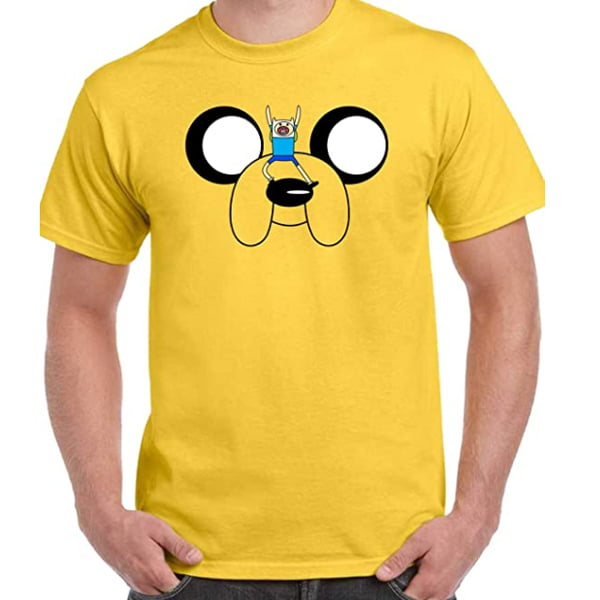 camiseta adventure time jake gigante