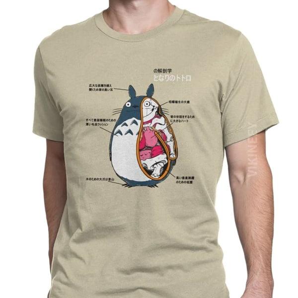 camiseta interior cuerpo totoro