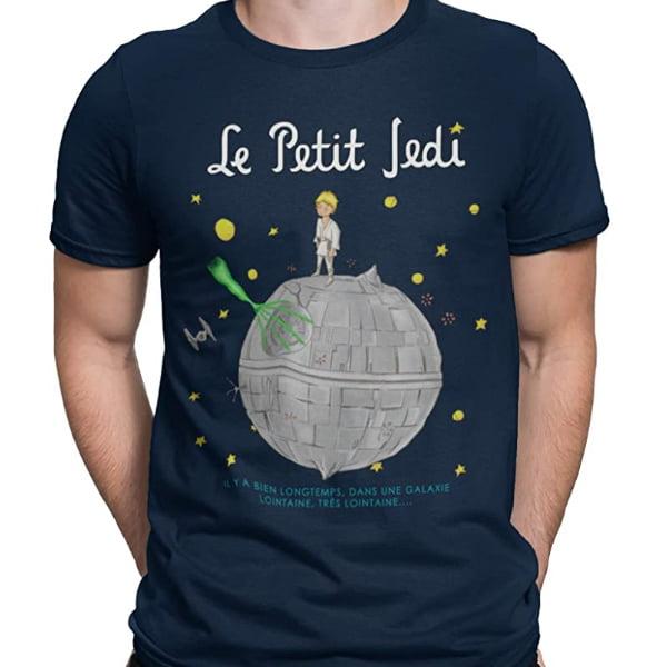 camiseta inspirada en el principito y star wars
