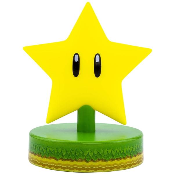 lampara decorativa estrella mario