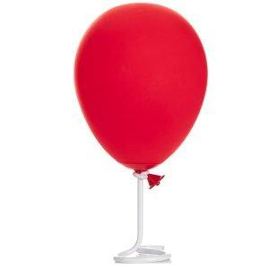 lampara decorativa inspirada en el globo rojo de la pelicula it