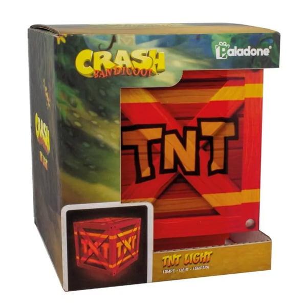 lampara crash bandicoot tnt