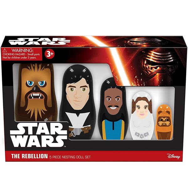 muñecas rusas star wars rebeldes