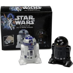salero pimentero droides R2 star wars