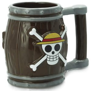 taza calavera one piece