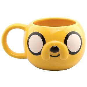 taza ceramica 3d jake adventure time