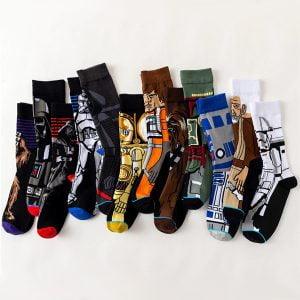 calcetines largos star wars disney