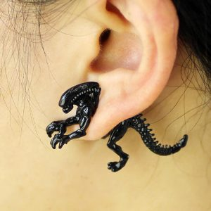 xenomorph earring alien